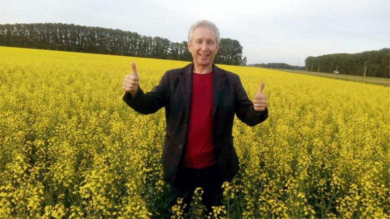 Фото репортаж с полей Алтая